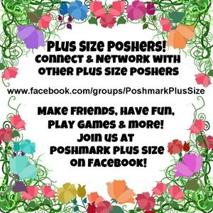 Tops - Plus Size Poshers, Come Join Our Facebook Group!